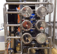 , Specialised Recovery Reverse Osmosis System: Manufacturing Industry
