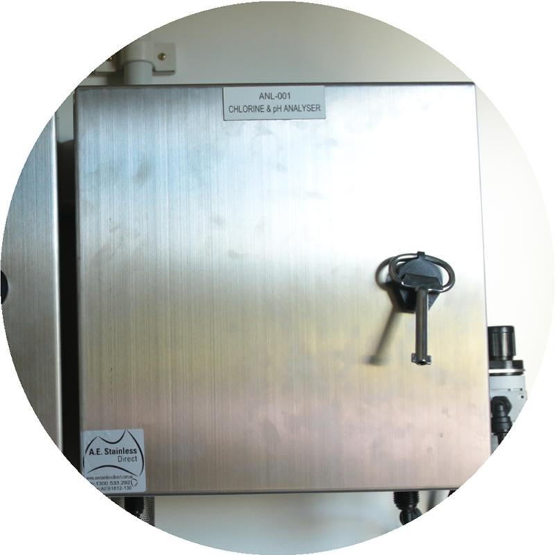 WaterBox Chlorine and pH Analyser