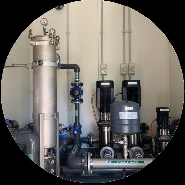 WaterBox Premium Grundfos Pumps