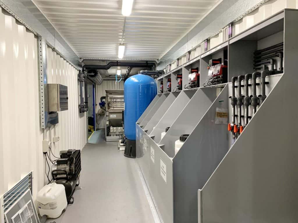 wastewater treatment plant, Black Diamond Project Group – Wastewater Treatment Plant