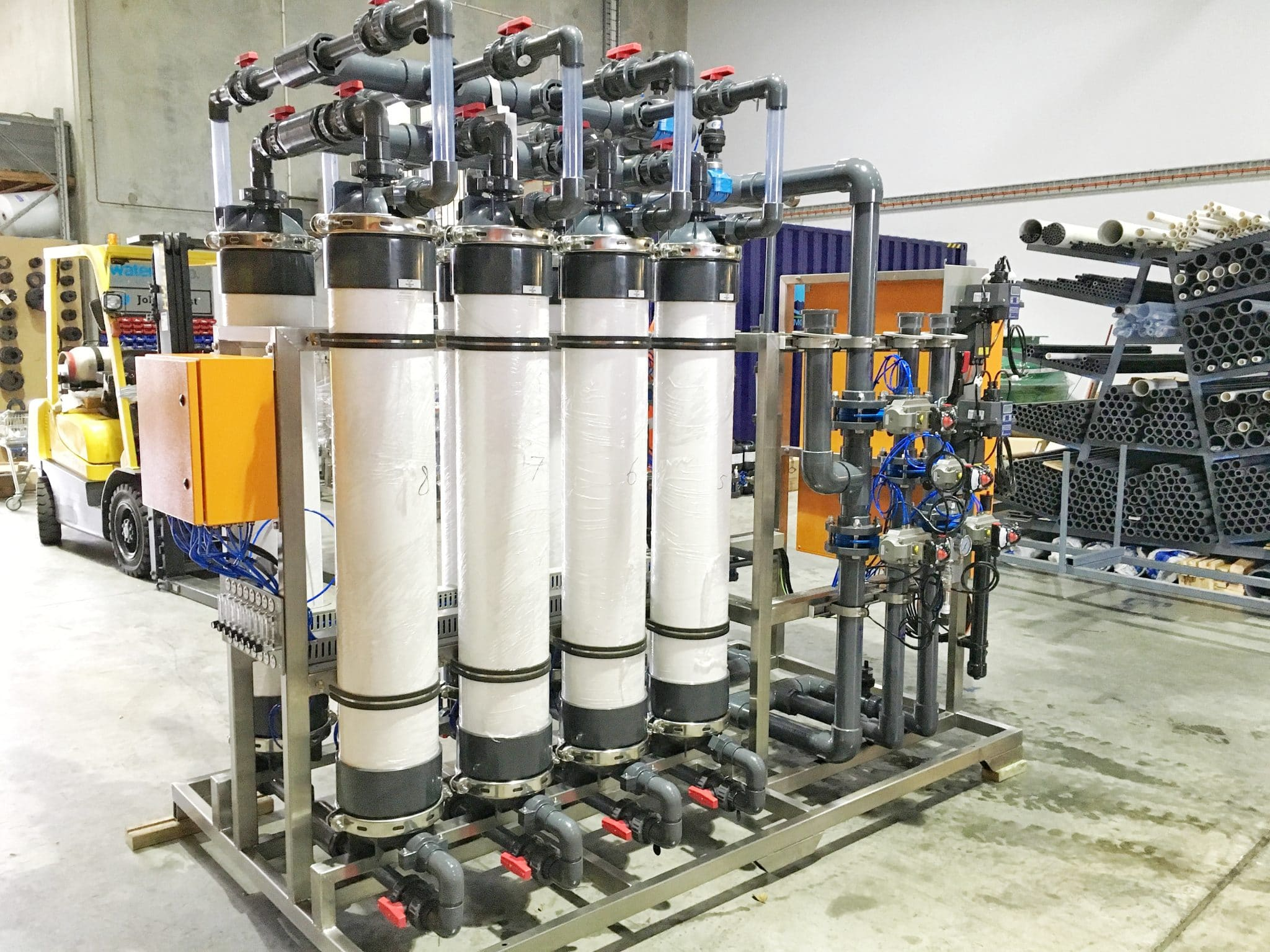 Wastewater Biological Treatment, Wastewater Biological Treatment and Ultrafiltration System
